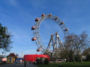 The vienna giant ferris wheel