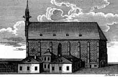Zeichnung Frauenkirche